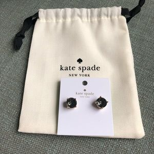 NWT Kate Spade Crystal Stud Earrings